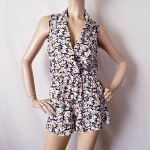 Toska Floral Romper Size Small